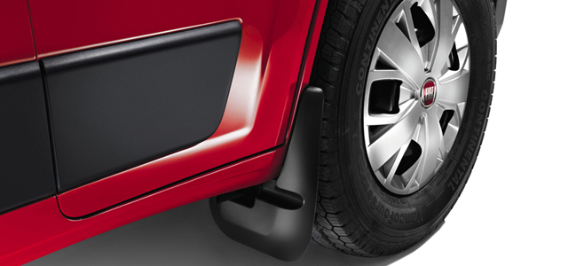 Front rubber mud flaps - фото | FiatProfessional