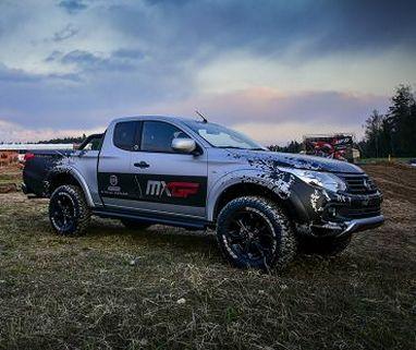 Fiat Fullback є генеральним спонсором з мотокросу MxGP Великобританії - фото | FiatProfessional