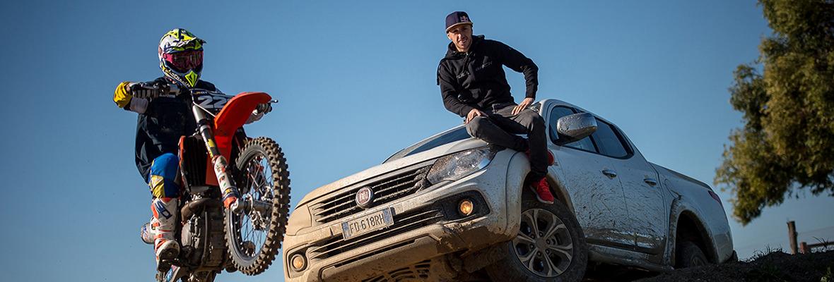 Fiat Professional є офіційним партнером чемпіонату з мотокросу FIM World MXGP в черговий раз