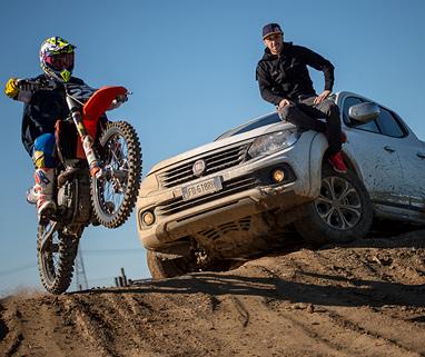 Fiat Professional є офіційним партнером чемпіонату з мотокросу FIM World MXGP в черговий раз - фото | FiatProfessional