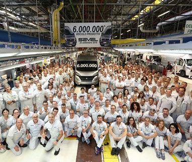 Завод «Sevel» з виробництва Ducato випустив 6 мільйонів автомобілів - фото | FiatProfessional
