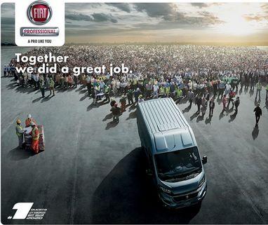 Ducato, найбільш продаваний комерційний автомобіль в Європі - фото | FiatProfessional